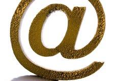 Símbolos do Internet imagem de stock royalty free