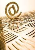 Símbolos do Internet Foto de Stock Royalty Free