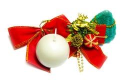 Símbolos do Natal Imagens de Stock Royalty Free