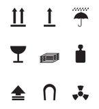 Símbolos do pacote Foto de Stock Royalty Free