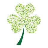 Símbolos ecológicos Imagenes de archivo