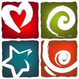 Símbolos energéticos Foto de Stock Royalty Free