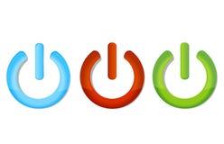 Símbolos fora do jogo Imagens de Stock