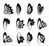 Símbolos geométricos Imagem de Stock Royalty Free