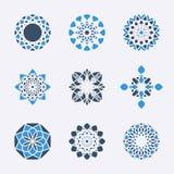 Símbolos geométricos do vetor Fotos de Stock
