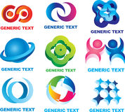 Símbolos gráficos Fotos de archivo libres de regalías