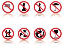 Símbolos - gracejos. ilustração stock