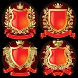 Símbolos heráldicos ilustração royalty free