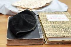 Símbolos judíos Imagen de archivo