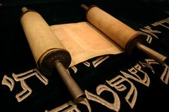 Símbolos judíos Imágenes de archivo libres de regalías