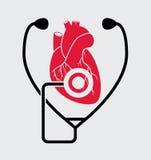 Símbolos médicos Fotografía de archivo libre de regalías