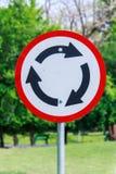 Símbolos na estrada Foto de Stock