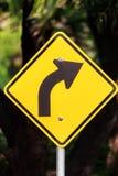 Símbolos na estrada Imagem de Stock
