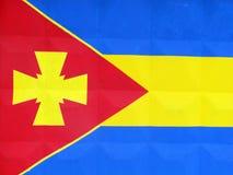 Símbolos nacionales y banderas de distritos de la región de Poltava libre illustration