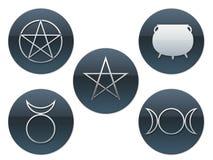 Símbolos pagãos Imagem de Stock