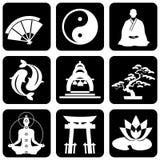 Símbolos religiosos Imagem de Stock