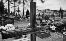 Símbolos religiosos católicos Fotografía de archivo