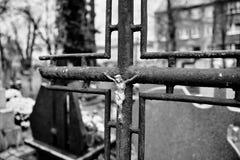 Símbolos religiosos católicos Fotografía de archivo libre de regalías