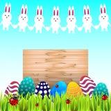 Símbolos tradicionales de Pascua Imágenes de archivo libres de regalías