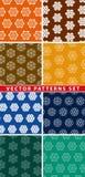 Símbolos y geometría sagrados para el fondo stock de ilustración
