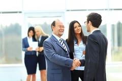 Sócios comerciais da reunião Imagem de Stock