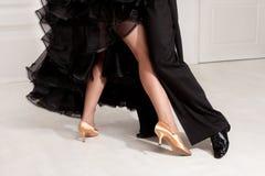 Sócios na dança Fotografia de Stock