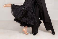Sócios na dança Imagem de Stock