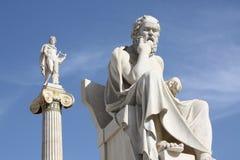 Sócrates y Apolo Fotografía de archivo