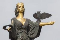 SÓFIA, BULGÁRIA 14 de abril de 2016 - monumento de Saint Sófia em Sofi Fotos de Stock Royalty Free