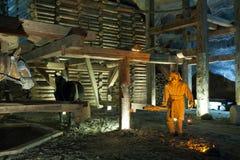 sól wieliczka mine Fotografia Royalty Free