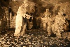sól wieliczka mine Zdjęcia Royalty Free