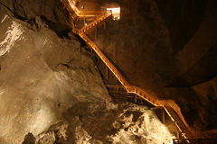 sól wieliczka mine Zdjęcia Stock