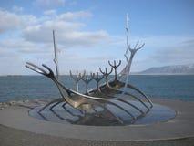 Sólfar, Reykjavik, Iceland royalty free stock photos