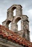 Sótão antigo acima do telhado telhado Imagem de Stock Royalty Free