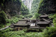 Sótão de luxo de Tienfu em três pontes naturais fotos de stock royalty free