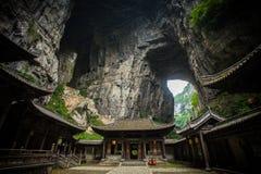 Sótão de luxo de Tienfu em três pontes naturais Foto de Stock Royalty Free