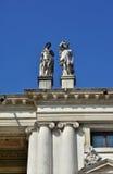 Sótão de Palazzo Chiericati em Vicenza Fotos de Stock