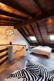 Sótão interior, bonito Fotografia de Stock Royalty Free