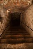 Sótano del castillo Fotos de archivo