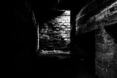 Sótano oscuro Imagenes de archivo