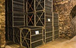 Sótanos Castellane Epernay Francia Imagen de archivo libre de regalías