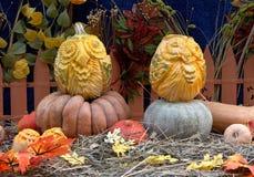 Sów banie przy festiwal Złotą jesienią Obrazy Royalty Free