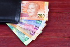 Söder - afrikanska pengar i den svarta plånboken