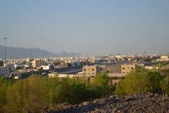 Söder av Medina från det over berg Arkivfoton