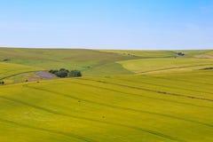 Söder besegrar landskap Arkivbild