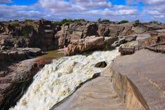 södra africa augrabiesfalls Royaltyfri Foto