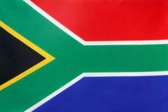 södra africa flagga royaltyfria foton