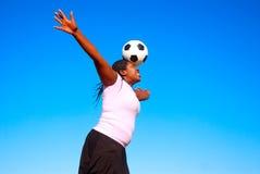södra africa fotboll fotografering för bildbyråer