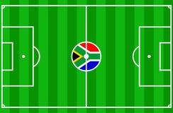 södra africa fotboll 2010 Royaltyfri Bild