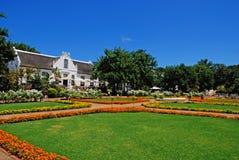 södra africa kolonialt lantgårdhus Royaltyfri Bild